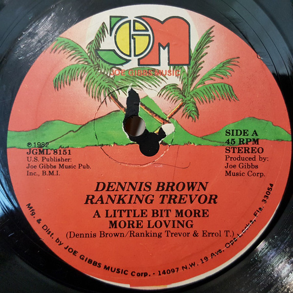 Dennis Brown / Ranking Trevor ‎– A Little Bit More More Loving
