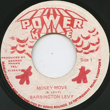 Barrington Levy ‎– Money Move