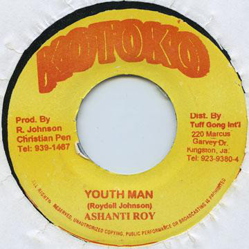 Ashanti Roy* ‎– Congos / Youth Man