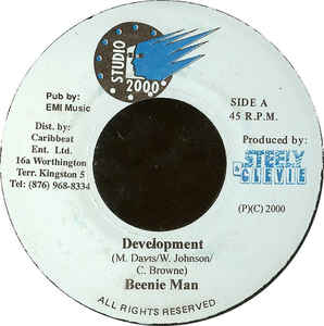 Beenie Man / Wickerman ‎– Development / Bad Weather