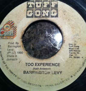 Barrington Levy ‎– Too Experience