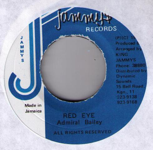 Admiral Bailey ‎– Red Eye