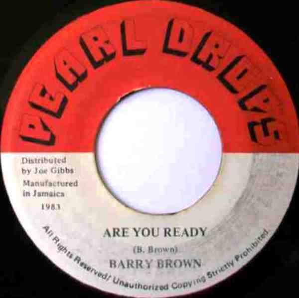 Barry Brown ‎– Are You Ready