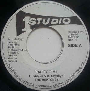 The Heptones ‎– Party Time