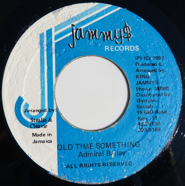 Admiral Bailey ‎– Old Time Something