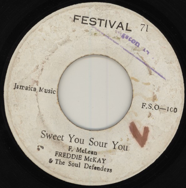 Freddie McKay / Jackie Mittoo ‎– Sweet You Sour You / Touching Y