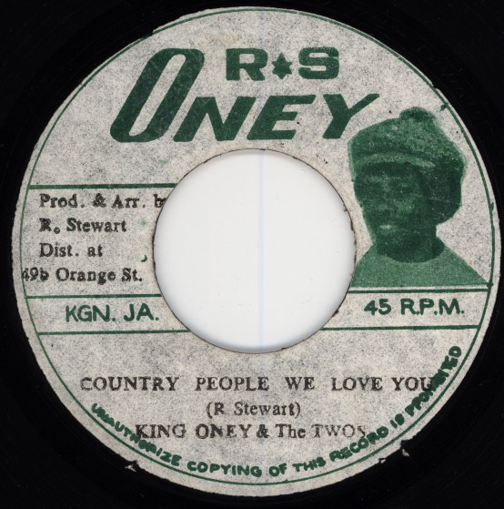 King Oney & The Twos ‎– Country People We Love You
