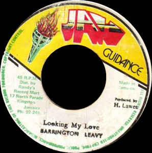 Barrington Leavy* ‎– Looking My Love