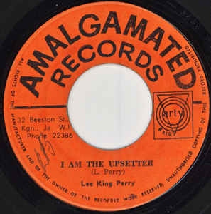 Lee King Perry* ‎– I Am The Upsetter / Thank You Baby