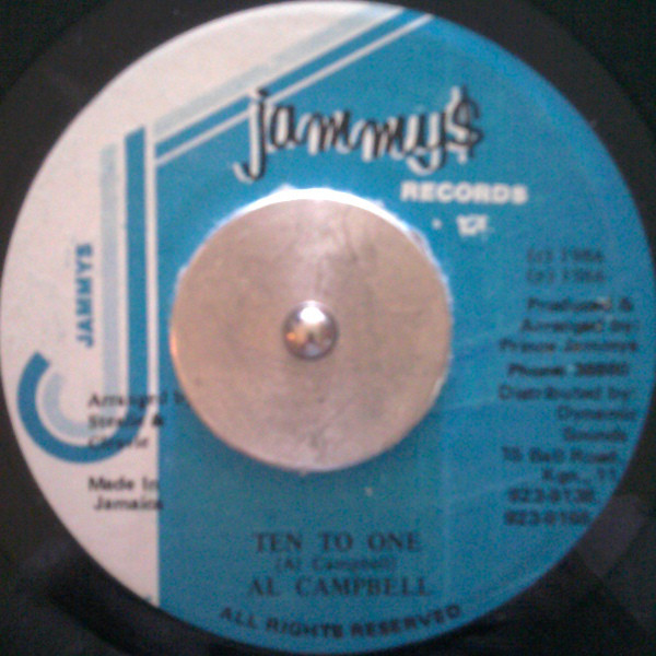 Al Campbell ‎– Ten To One