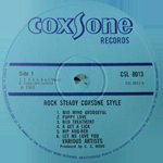 Various ‎– Rock Steady Coxsone Style