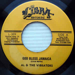 Al & The Vibrators ‎– God Bless Jamaica