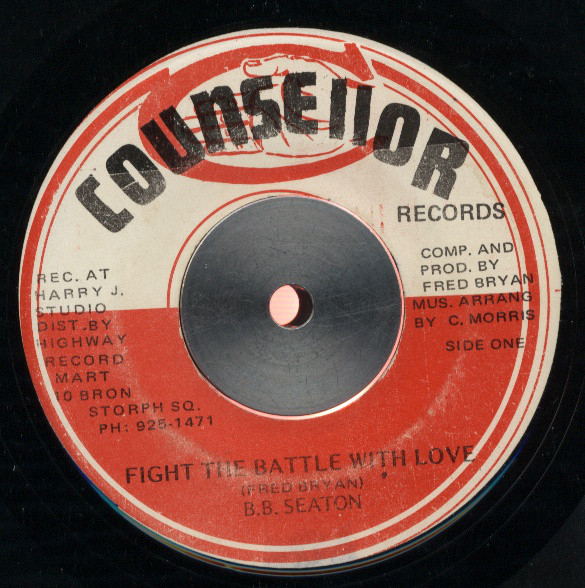 B.B. Seaton / Fred Bryan And Company* ‎– Fight The Battle With L