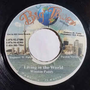 Winston Paddy, King Kong ‎– Living In The World / Man No Give Up