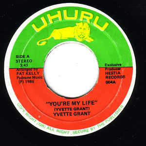 Yvette Grant ‎– You're My Life