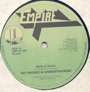 Ray Mondo & Samantha Rose - Book Of Rules