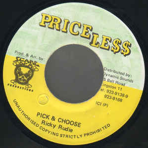 Pick & Choose - Ricky Rudie