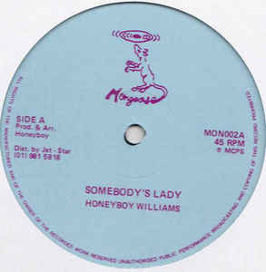 Honeyboy Williams - Somebody's Lady