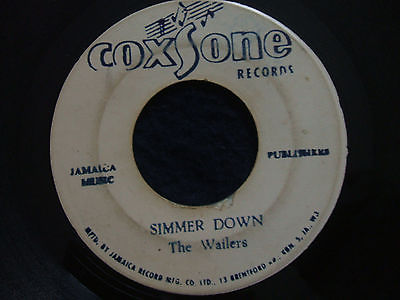 The Wailers / Bob Marley and the wailers- Simmer Down / Sunday M